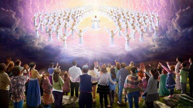 Vraag (1): De belofte van de Heer luidt dat hij zal wederkeren om ons mee te nemen naar het hemelse koninkrijk, maar toch zeggen jullie dat de Heer al is geïncarneerd om het oordeelswerk in de laatste dagen te doen. De Bijbel voorspelt duidelijk dat de Heer op wolken zal neerdalen met kracht en grote glorie. Dat is iets heel anders dan wat jullie hebben verklaard, namelijk dat de Heer al is geïncarneerd en heimelijk onder de mensen is neergedaald.