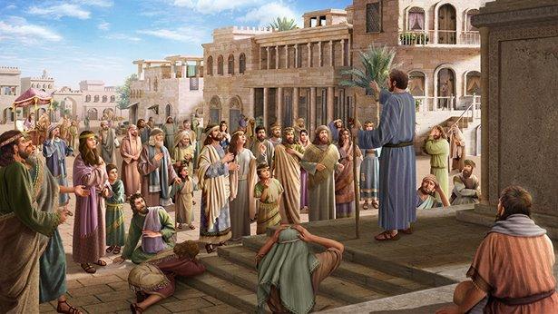 Jehova Gods waarschuwing bereikt de Ninevieten