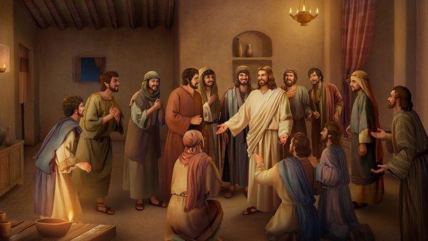 De woorden van Jezus tot Zijn discipelen na Zijn opstanding