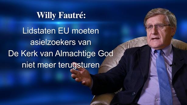 Willy Fautré: Lidstaten EU moeten asielzoekers van De Kerk van Almachtige God niet meer terugsturen