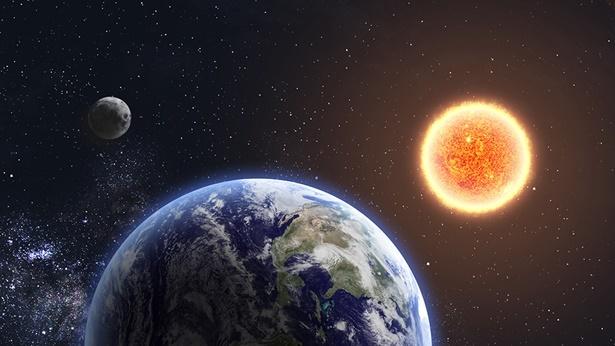 Op de vierde dag komen de seizoenen, dagen en jaren van de mensheid tot leven als God nogmaals Zijn gezag uitoefent