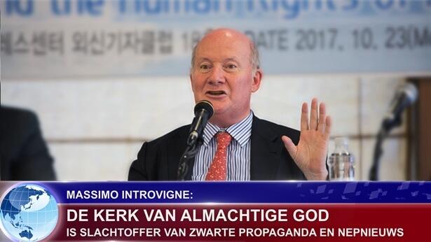 Massimo Introvigne De Kerk van Almachtige God is slachtoffer van zwarte propaganda en nepnieuws